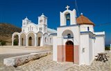 Church in Small Town of Dryos, Paros, Greece