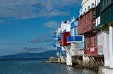 Greece, Cyclades, Mykonos, Hora 'Little Venice' area