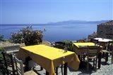 Outdoor Restaurant, Monemvasia, Greece