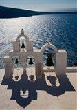 Bell Tower overlooking The Caldera, Oia, Santorini, Greece