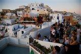 Sunset and The Tourists, Oia, Santorini, Greece