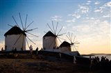 Famous Windmills, Hora, Mykonos, Greece