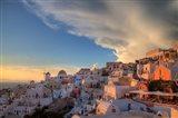Greece, Santorini, Oia, Colorful Buildings