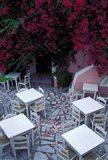 Restaurant Patio, Santorini, Greece