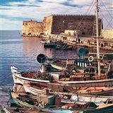 Greece, Crete, Fishing boats, Rossa al Mare