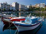 Boats on The Lake, Agios Nikolaos, Crete, Greece