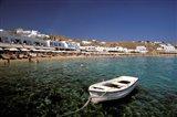 Platis Gialos Beach, Mykonos, Cyclades Islands, Greece