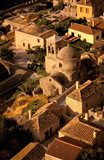 Town View from Cliffs, Monemvasia, Lakonia, Greece
