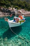 Greece, Ionian Islands, Zakynthos, Fishing Boat