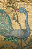 Peacock Mosaic, Eleftherotria Monastery, Macherado, Zakynthos, Ionian Islands, Greece