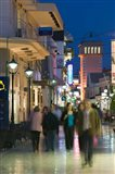 Shoppers on Lithostrotou Street, Argostoli, Kefalonia, Ionian Islands, Greece
