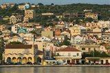 Morning View of Town from Argostoli Bay, Argostoli, Kefalonia, Ionian Islands, Greece