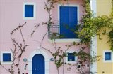 Vacation Villa Detail, Assos, Kefalonia, Ionian Islands, Greece