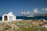 Agios Pantelemonos Waterfront Church, Gavathas, Lesvos, Mithymna, Greece