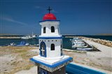 Miniature Fishing Harbor Chapel, Sigri, Lesvos, Mithymna, Northeastern Aegean Islands, Greece