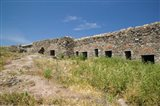 Detail of Old Fortress, Sigri, Lesvos, Mithymna, Northeastern Aegean Islands, Greece