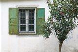 Courtyard Detail, Limonos Monastery, Filia, Lesvos, Mithymna, Aegean Islands, Greece