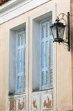 Building Detail, Manolates, Samos, Aegean Islands, Greece