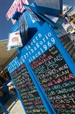 Waterfront Restaurant Sign, Pythagorio, Samos, Aegean Islands, Greece