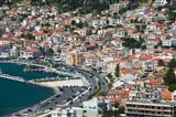 Town View with Harbor, Vathy, Samos, Aegean Islands, Greece