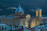 Town Church, Kokkari, Samos, Aegean Islands, Greece