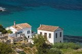 Greece, Aegean Islands, Samos, Kalami Beach Houses