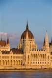 Hungary, Budapest Parliament Building On Danube River