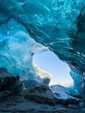 Ice Cave In The Glacier Breidamerkurjokull