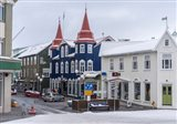 Akureyri, Iceland During Winter