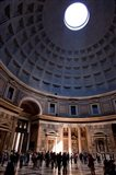 Interior of the Pantheon in Rome, Lazio, Italy
