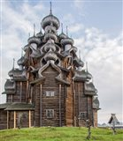 Kizhi Pogost Wooden Church In Lake Onega Karelia Russia