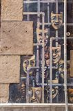 Spain, Bilbao Painted wall, Teatro Arriaga