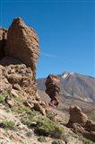 Spain, Tenerife, Las Canadas, Volcanic rock