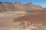 Spain, Tenerife, Las Canadas, lava flow
