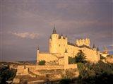 Alcazar at Dusk, Segovia, Spain