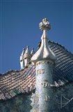 Antonio Gaudi's Cassa Batilo, Barcelona, Spain