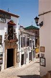 Spain, Andalusia, Cadiz, Arcos De la Fontera Typical Street View
