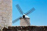 Spain, Toledo Province, Consuegra La Mancha Windmills