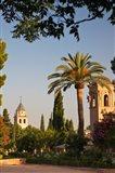 Spain, Granada, Alhambra The Generalife gardens