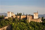 Spain, Andalusia, Granada Province, Granada View of Alhambra Palace