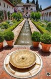Spain, Granada Patio de la Acequia at Generalife