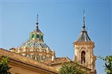 Dome and bell tower of the Iglesia de San Juan de Dios, Granada, Spain