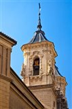 Spain, Granada Bell tower of the Church of San Justo y Pastor