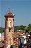 Spain, Andalucia, Grazalema The bell tower of Iglesia de San Juan