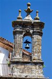 Spain, Andalucia, Cadiz Bell tower of old church in Grazalema