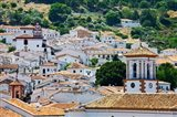 Spain, Andalucia, Cadiz Province, Grazalema View of the town