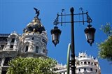 Spain, Madrid Metropolis building on Grand Via