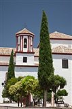 Spain, Andalusia, Malaga Province, Ronda Church of Santa Cecilia