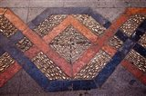 Spain, Andalusia, Malaga Province, Ronda Decorative Tile Floor