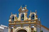 Spain, Andalusia, Zahara Bell tower of the San Juan de Letran Chapel